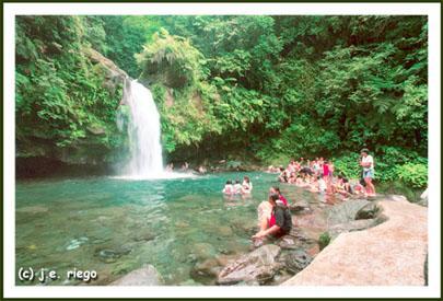 <b>TayTay Falls in Majayjay, Laguna